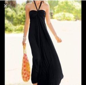 Victoria's Secret Halter Bra Top Maxi Dress